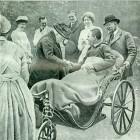 Împărăteasa Eugenie în vizită la spitalul din Tottenham