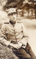 Ofiţer român prizonier la Stralsund