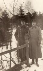 Ofiţeri ruşi prizonieri la Stralsund