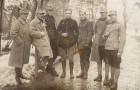 Prizonieri români și francezi în lagărul de la Stralsund