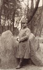 Ofițer român în lagărul de la Stralsund