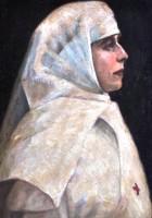 Regina Maria, soră de caritate