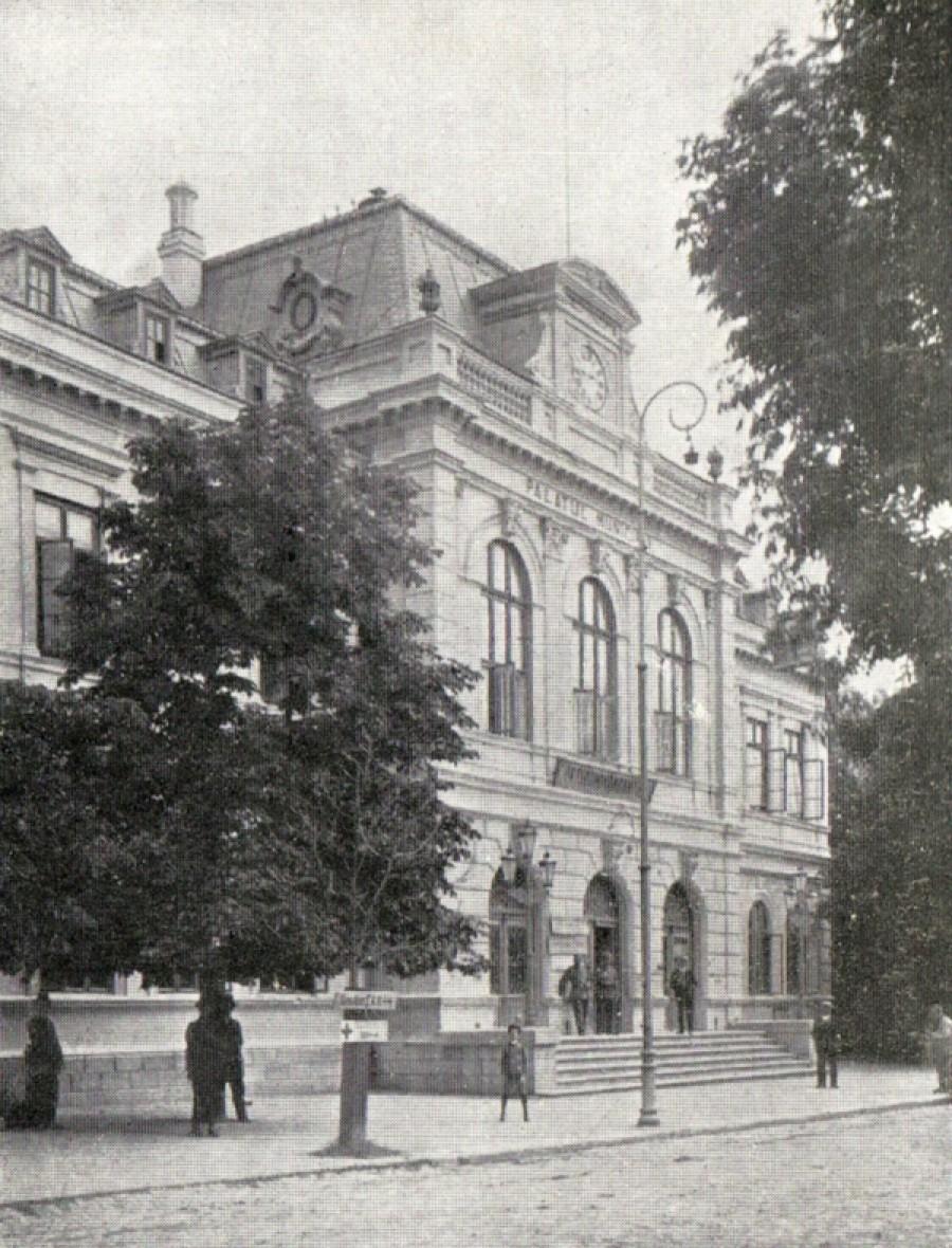 Sediul comandamentului german din Focșani