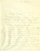 Scrisoare. Dest. T. Pisani. Exp. N. Filipescu (12 iul. 1914)