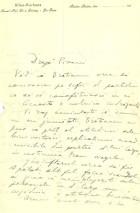 Scrisoare. Dest. T. Pisani. Exp. N. Filipescu (iulie 1914)