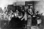 Birou de mobilizare din anul 1916