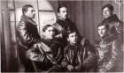 Un grup de aviatori români