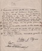 Ordin (regulam. de disciplină), scris de C. Plagino, pt. membrii echipei sale