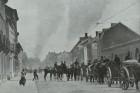 Evacuarea orașului Louvain (18 aug. 1914); retragerea belgiană, spre Anvers.