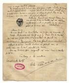 Scrisoare a ofiţerului Pascal Rădulescu, din 22 septembrie 1916, adresată  familiei în care le povestește viața pe front - pagina 4