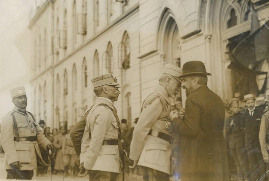 Generalul Prezan și Ion I.C. Brătianu