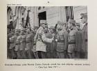 Generalul Constantin Prezan urând bun venit ofițerilor voluntari ardeleni