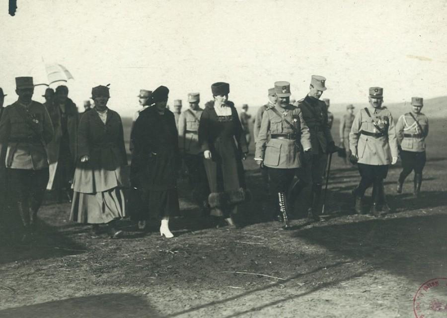 Regina Maria și Generalul Grigorescu