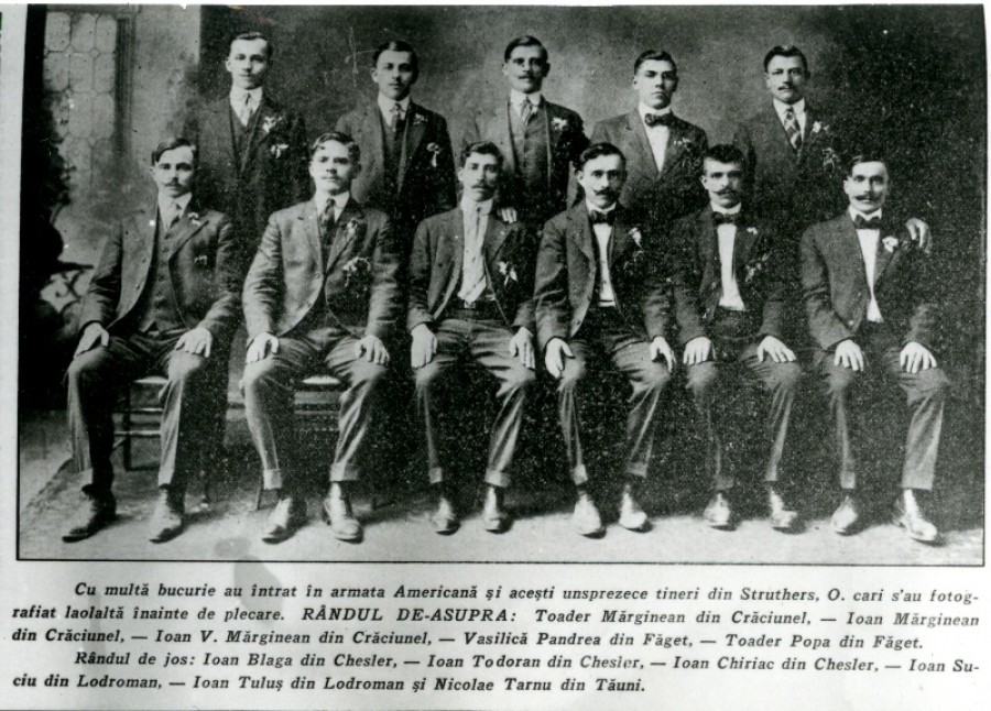 Voluntari români din Struthers